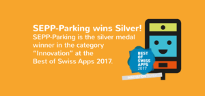 SEPP-Parking wins the Silver Medal